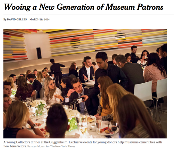 NYT: Young Patrons at Guggenheim