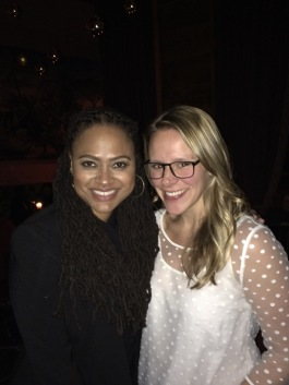 "Ava DuVernay and me after screening of ""Selma"" (12/9/14)"